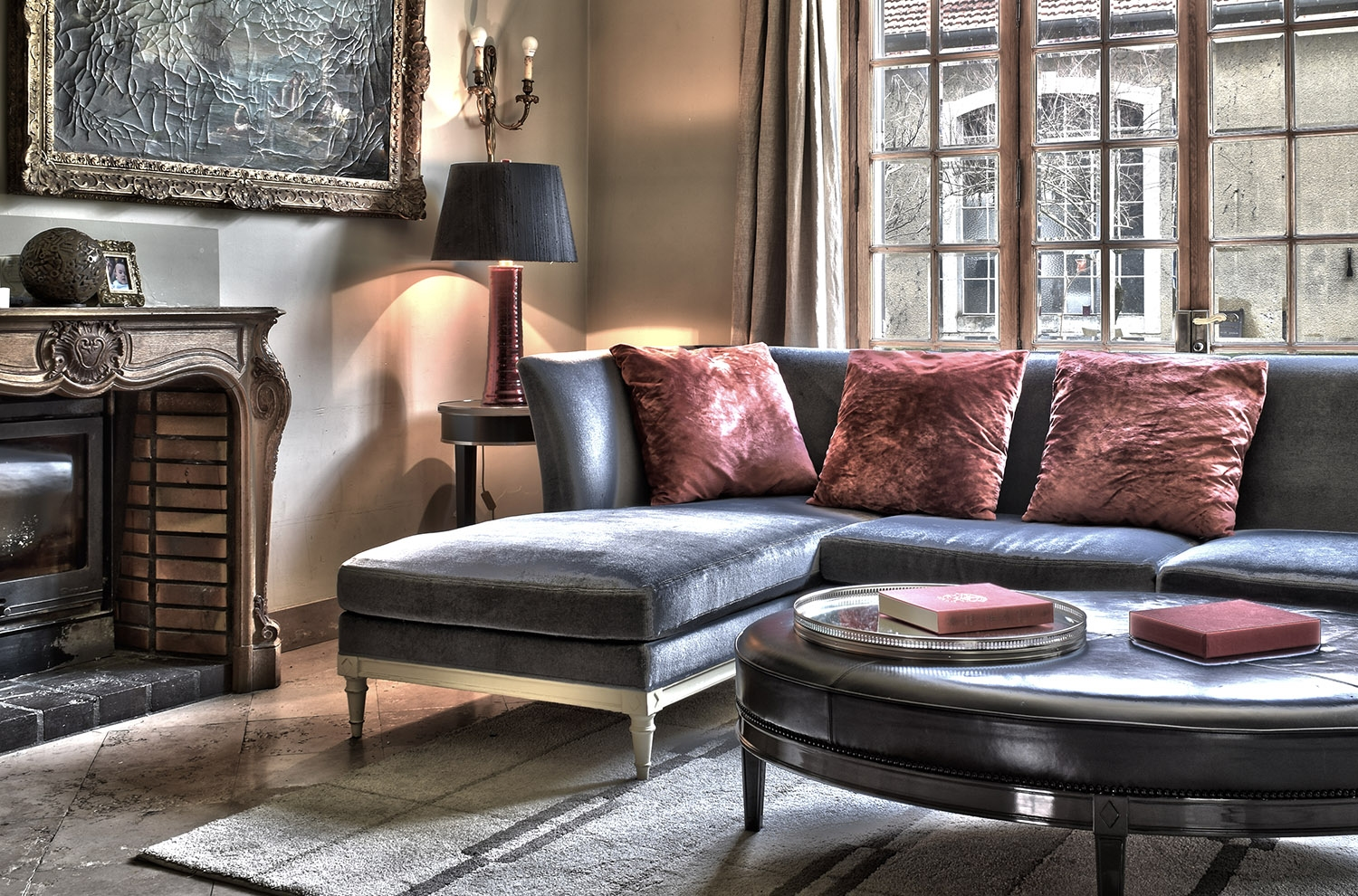 Proudly Presenting Debonnaire Sectional Sofa